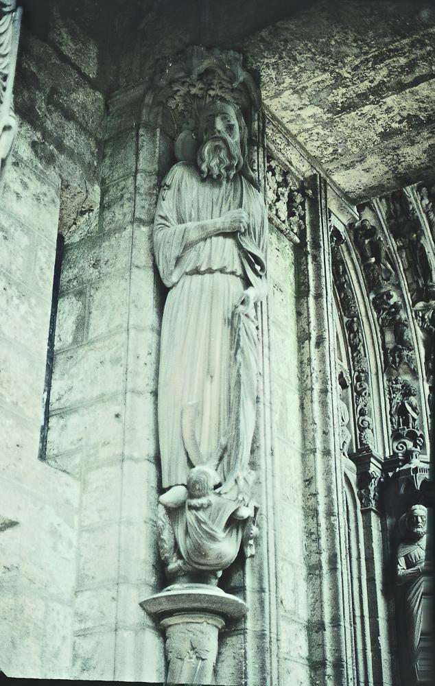 Chartres North Exterior Slides 106