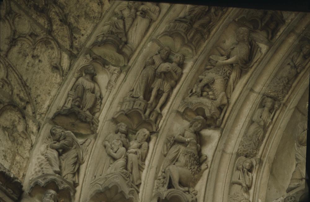 Chartres North Exterior Slides 113