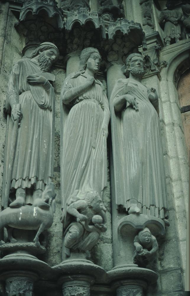 Chartres North Exterior Slides 118