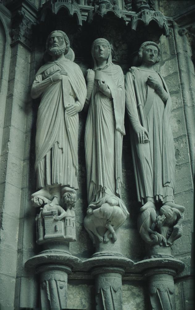 Chartres North Exterior Slides 119