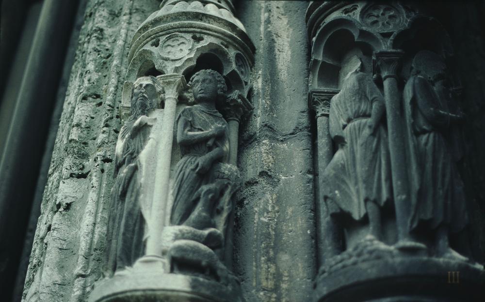 Chartres North Exterior Slides 123