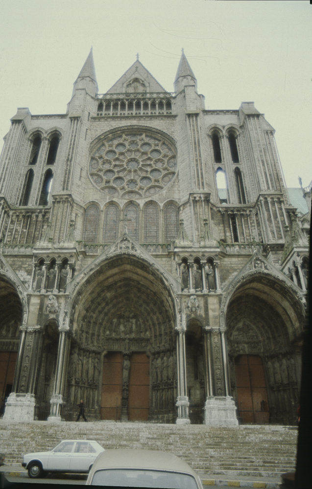 Chartres South Exterior Slides 003