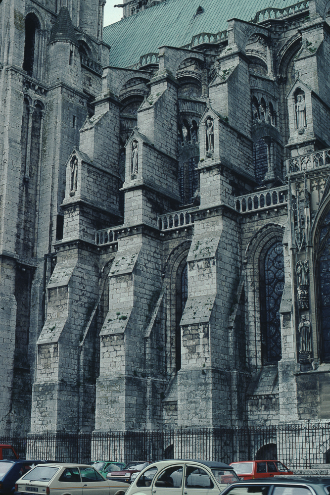 Buttresses, south side