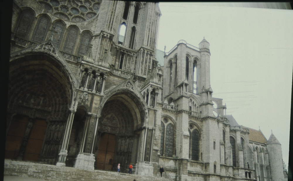 Chartres South Exterior Slides 007