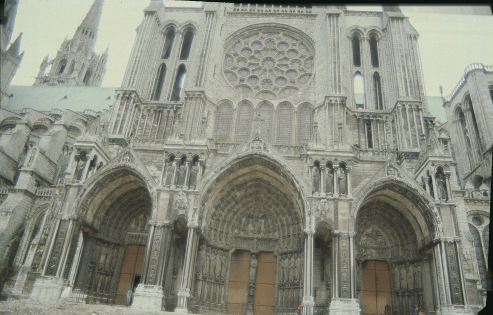 Chartres South Exterior Slides 008
