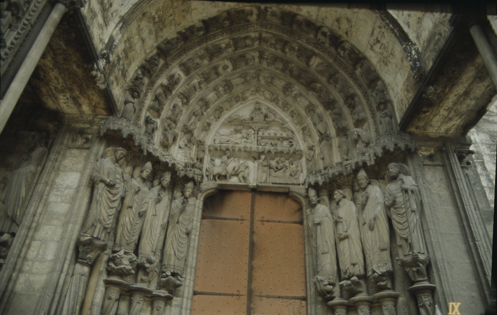 Chartres South Exterior Slides 014