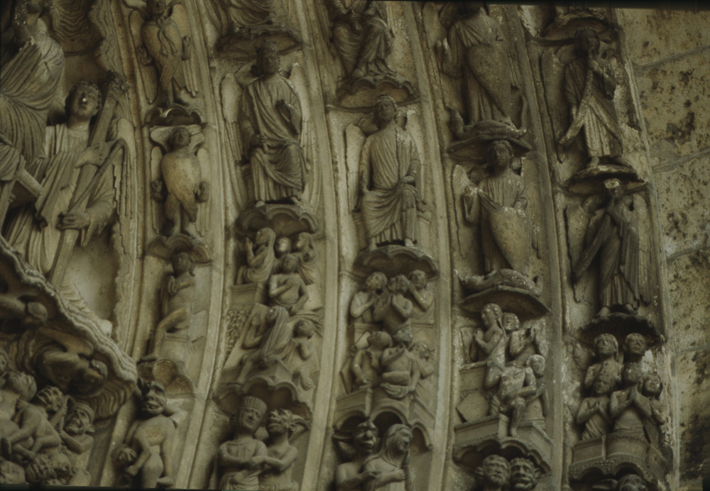 Chartres South Exterior Slides 042