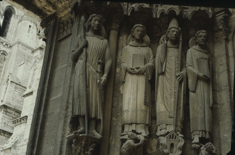Chartres South Exterior Slides 055