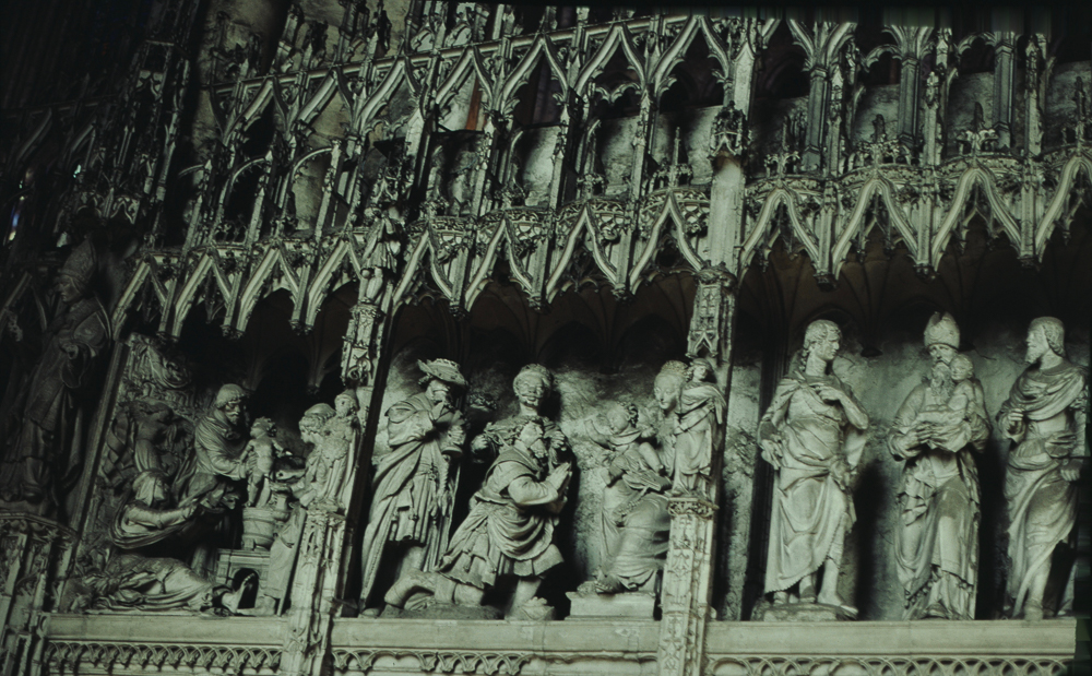 Chartres South Exterior Slides 072