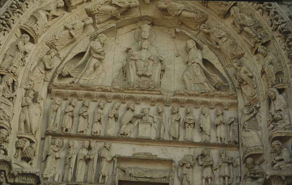 Chartres South Exterior Slides 090