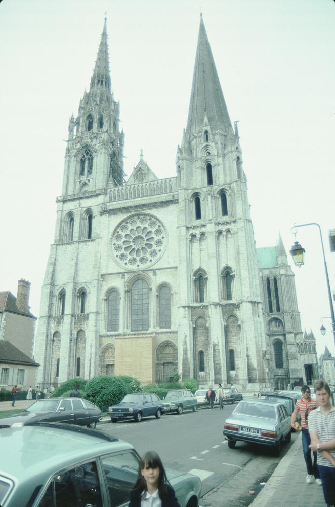 West facade of Notre Dame de Chartres