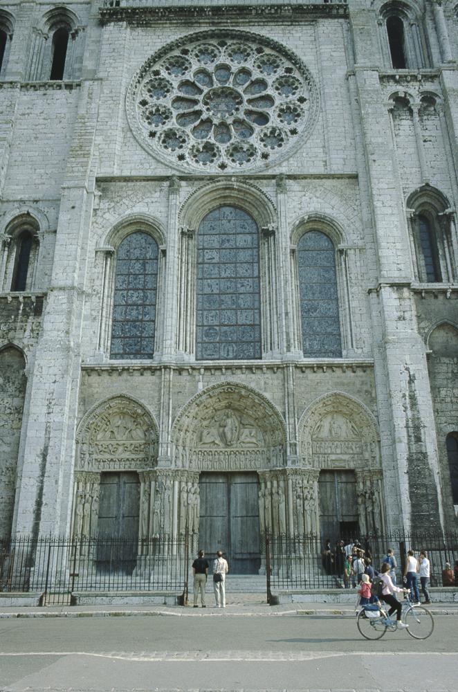 Chartres West Exterior Slides 011