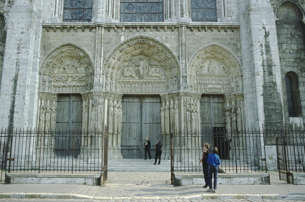 Chartres West Exterior Slides 013