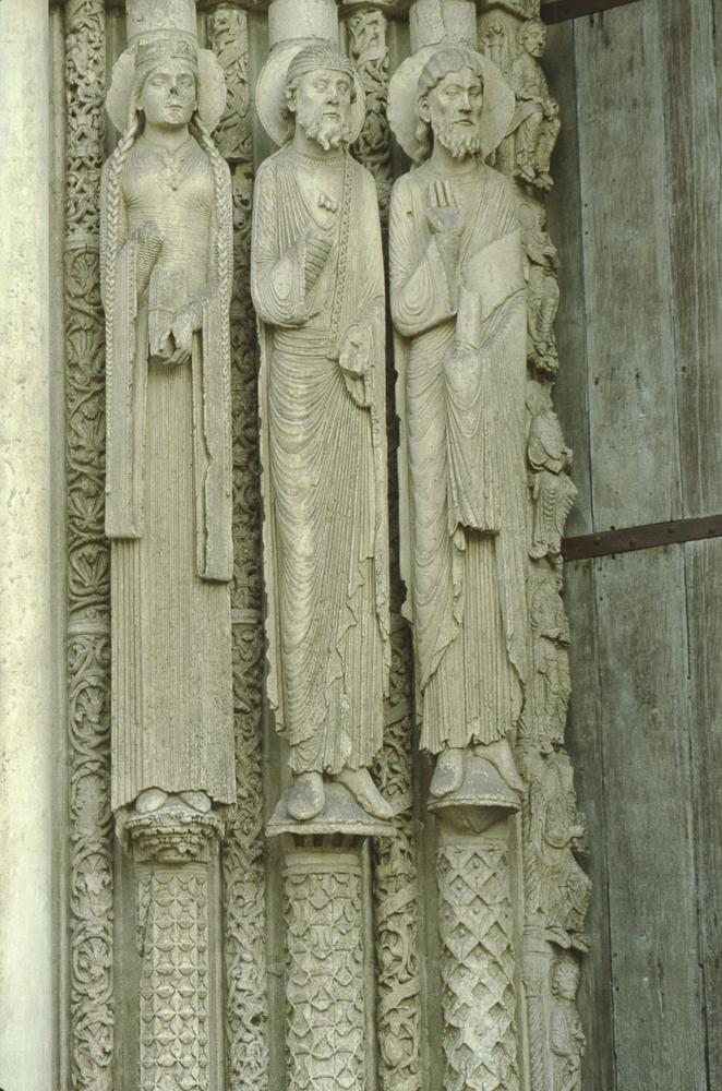 Chartres West Exterior Slides 020