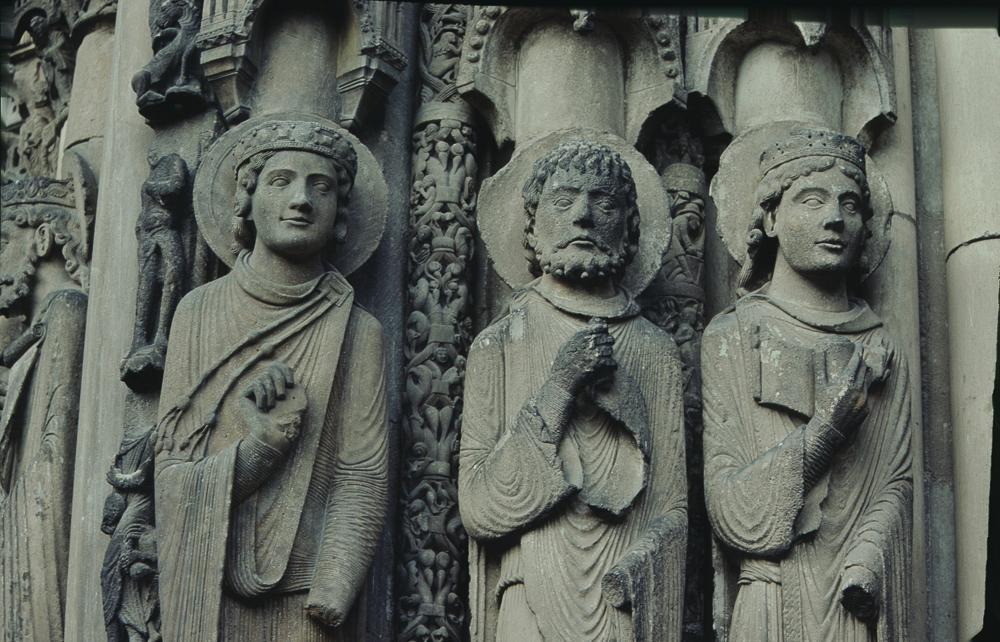 Chartres West Exterior Slides 028