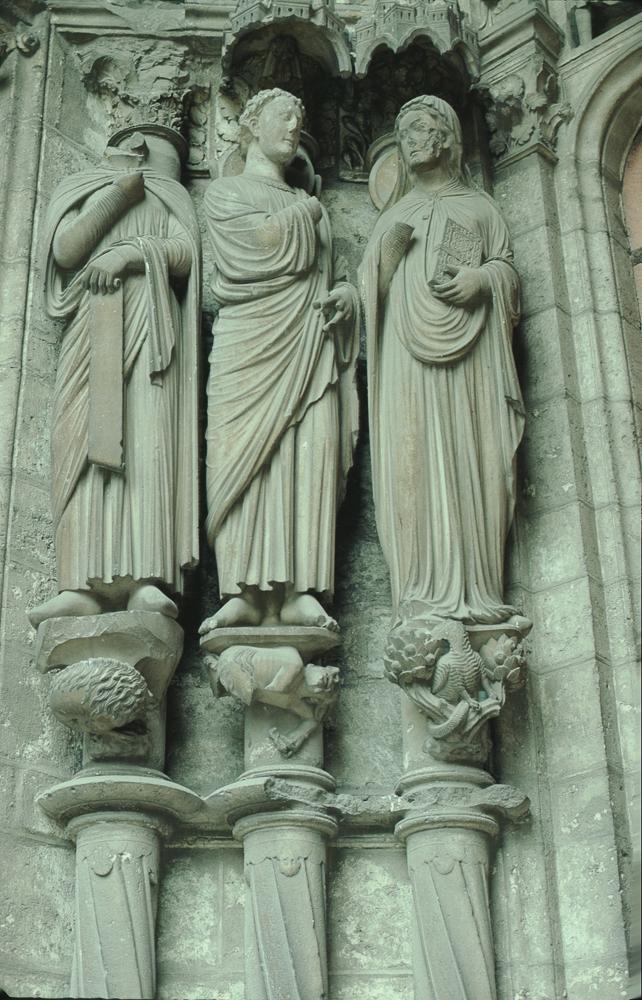 Chartres West Exterior Slides 075