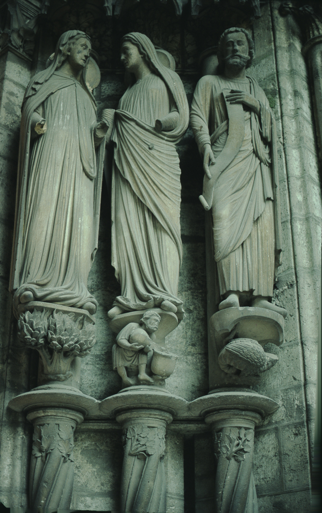 Chartres West Exterior Slides 076