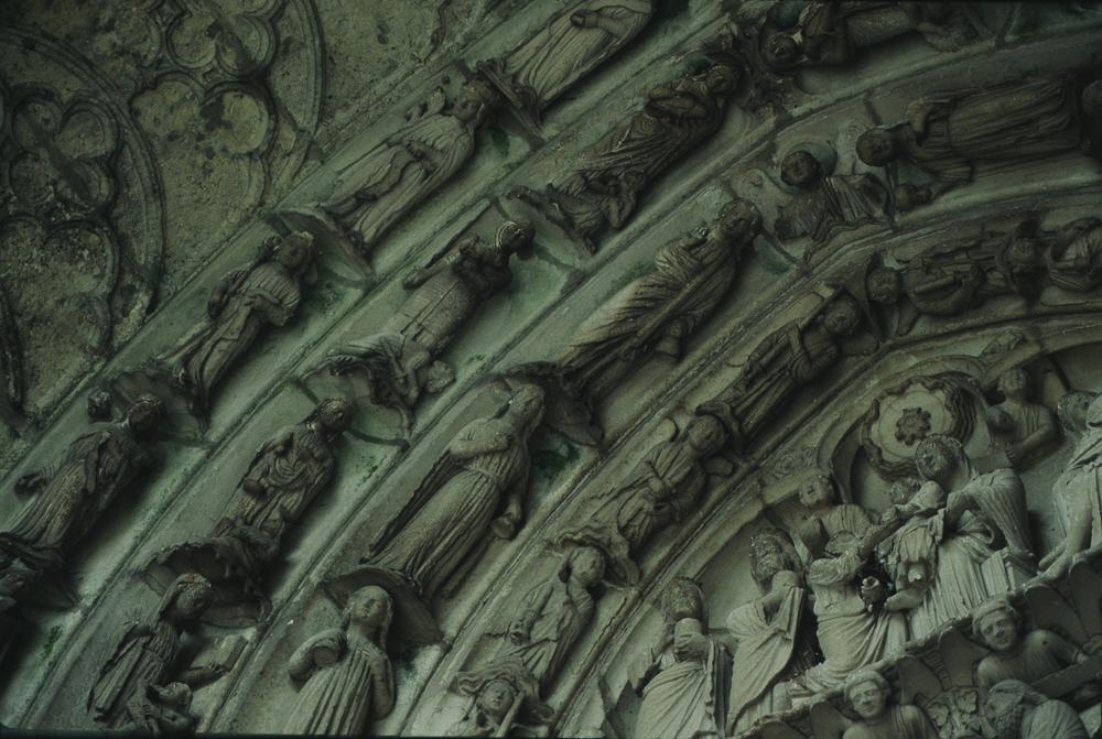Chartres West Exterior Slides 080