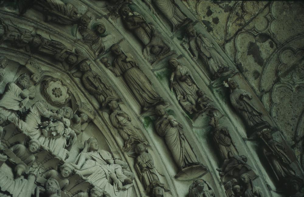 Chartres West Exterior Slides 081