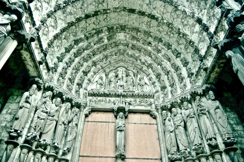 Chartres West Exterior Slides 085