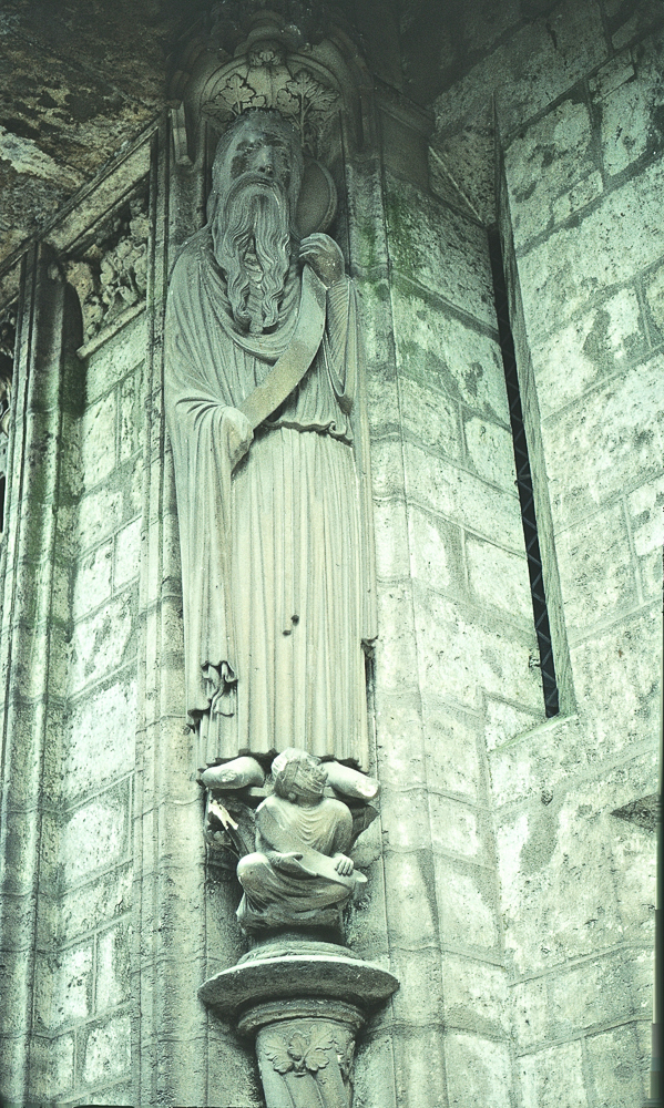 Chartres West Exterior Slides 092