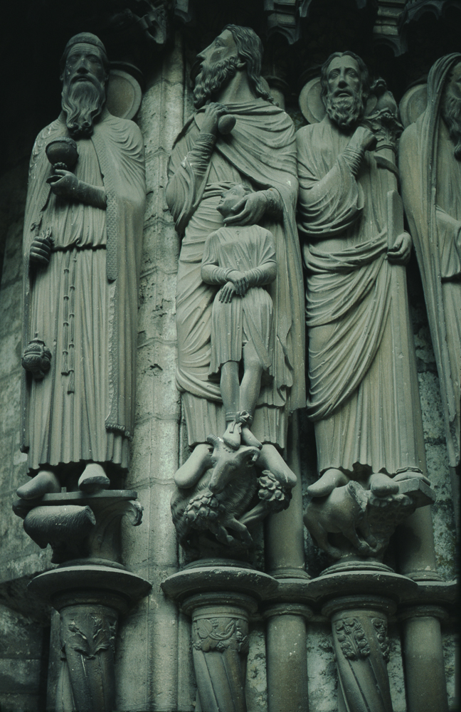 Chartres West Exterior Slides 094