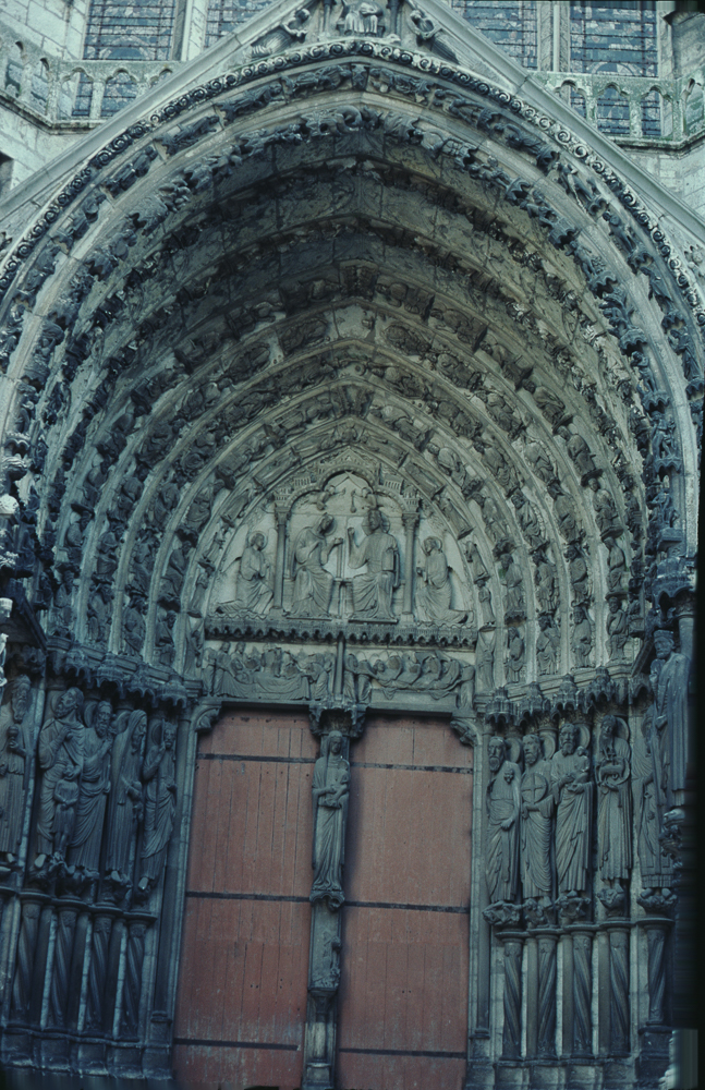 Chartres West Exterior Slides 097