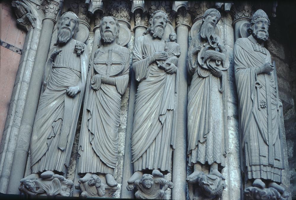 Chartres West Exterior Slides 098