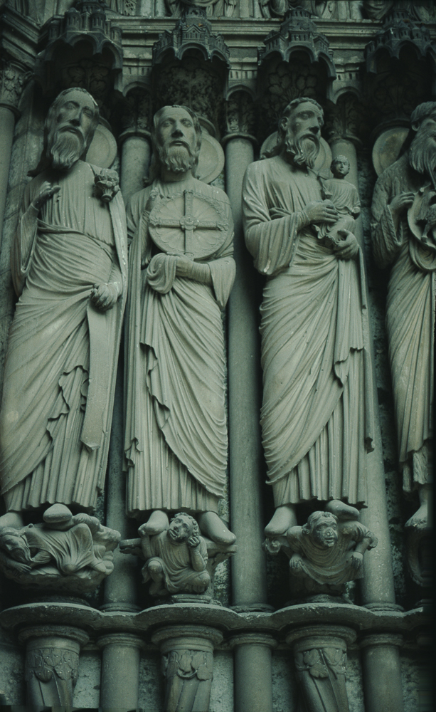 Chartres West Exterior Slides 099