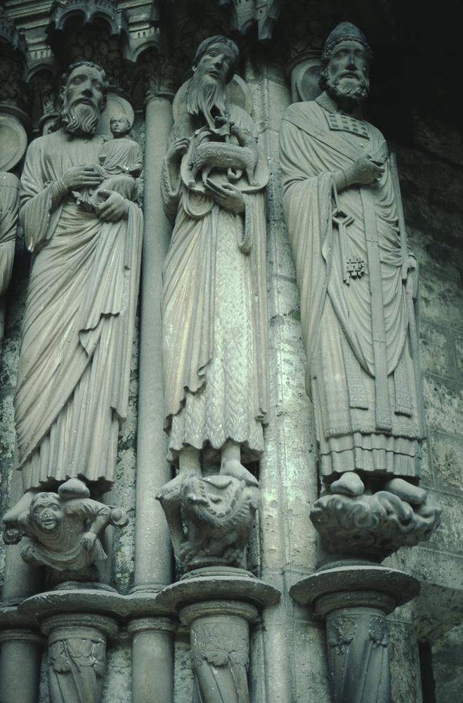 Chartres West Exterior Slides 100