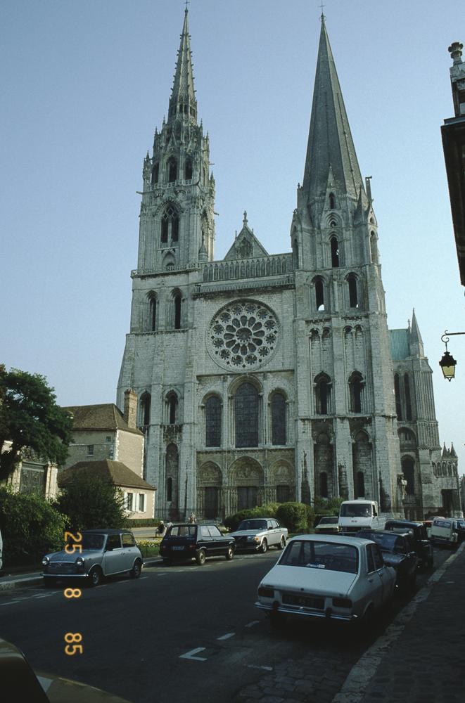 Chartres West Exterior Slides 101