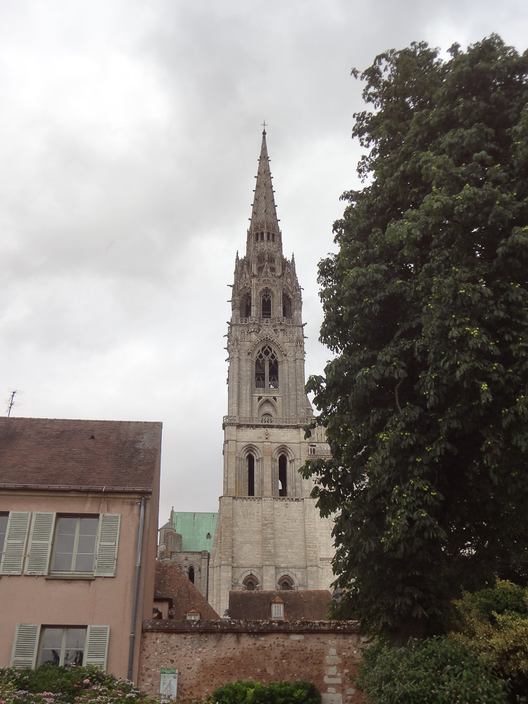 North-West Tower and Fleche at Chartres