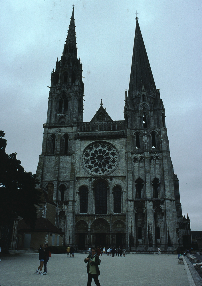 Chartres, west side