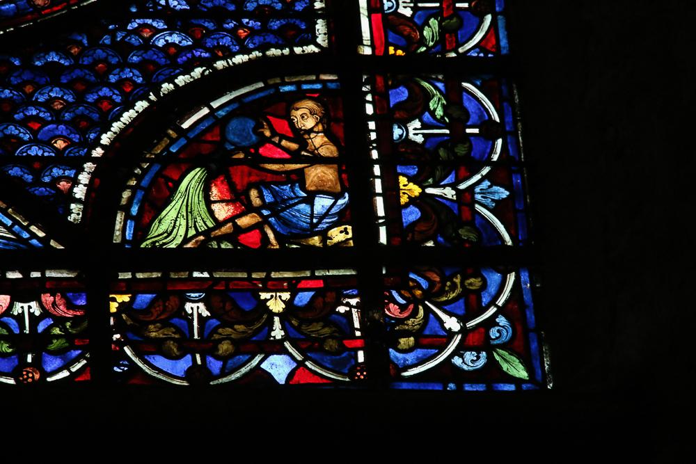 Story of Ste. Mary Magdalene window