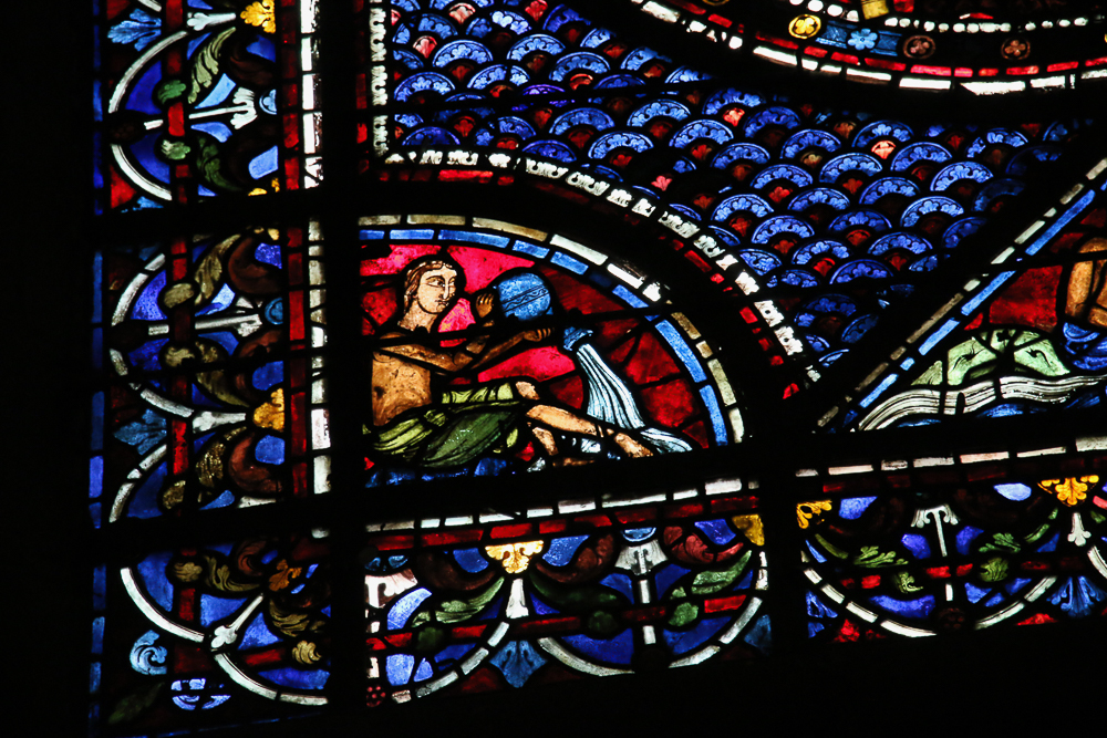 Story of Ste. Mary Magdalene window