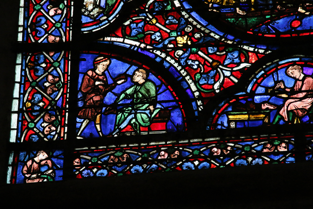 Death and Assumption of Mary Window