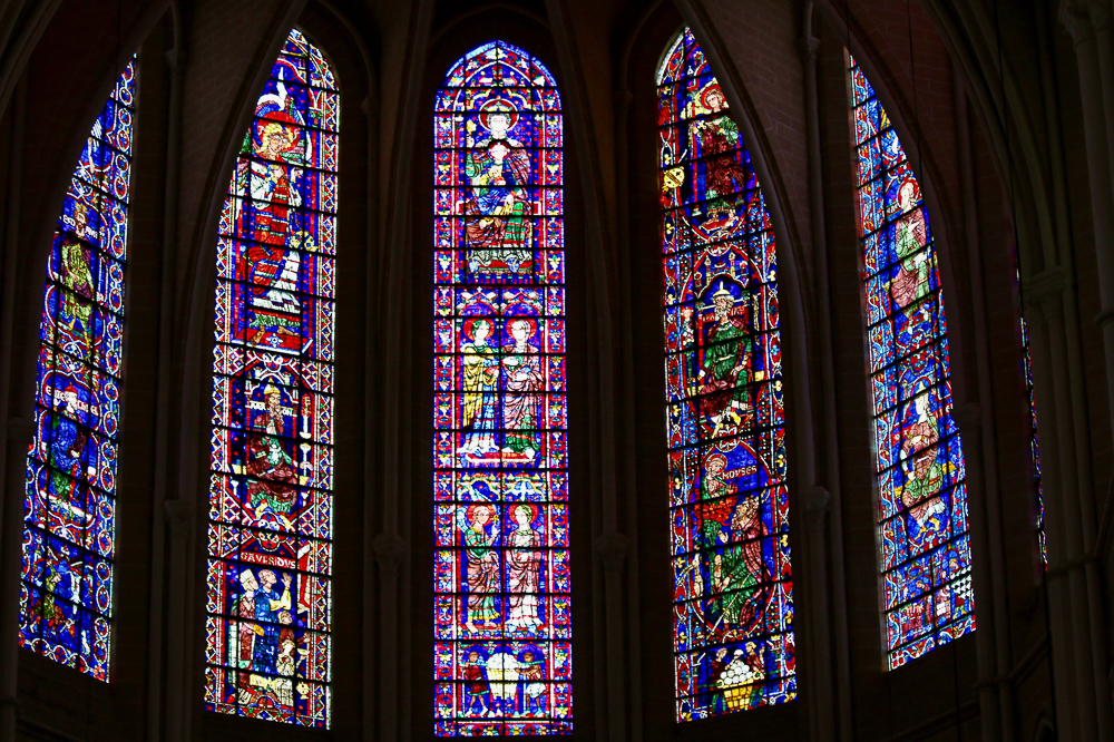 Apse Windows Chartres