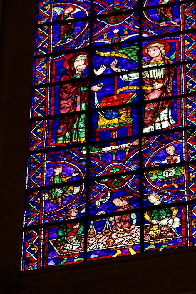 John the Baptist window Zecharias & Bankers