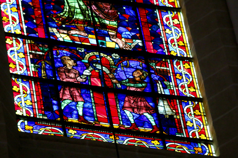 St Paul window Clerestory