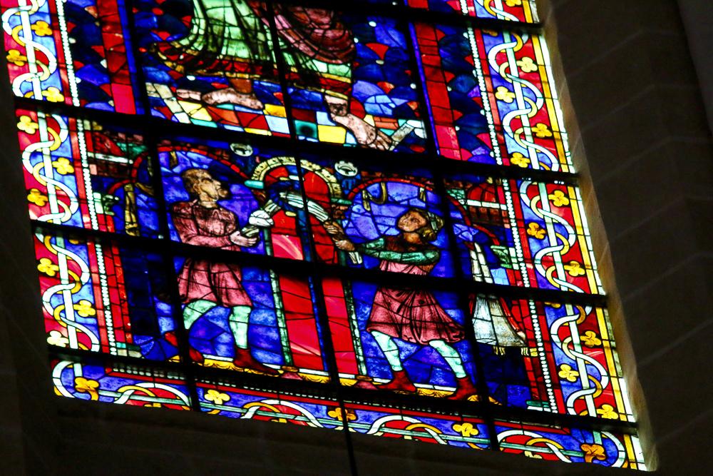St Paul window Clerestory