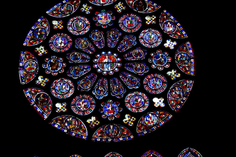 The South Rose Chartres Cathedral