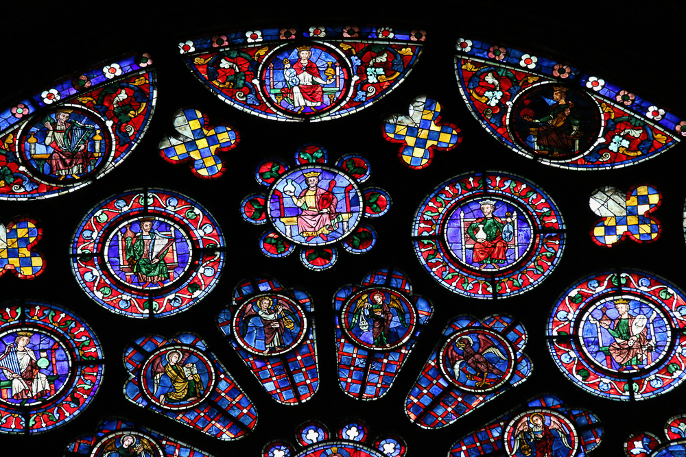 The South Rose Chartres Cathedral – Version 2