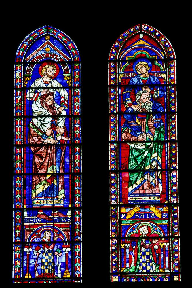 South Rose Lancet Windows Chartres