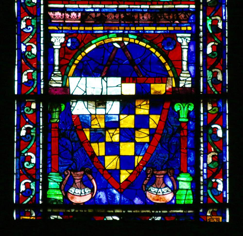 South Rose Central Lancet Window