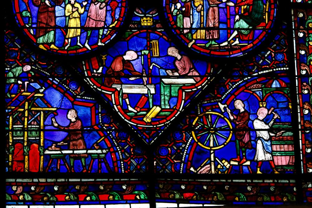St. Julien the Hospitalier Window Chartres North Choir