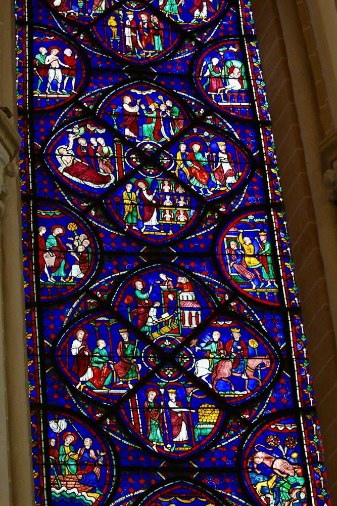 St. Thomas the Apostle Window North Choir Chartres