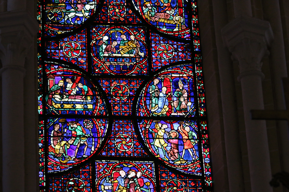 St. Stephen's WindowSouth-east apsidal chapel Chartres Cathedral