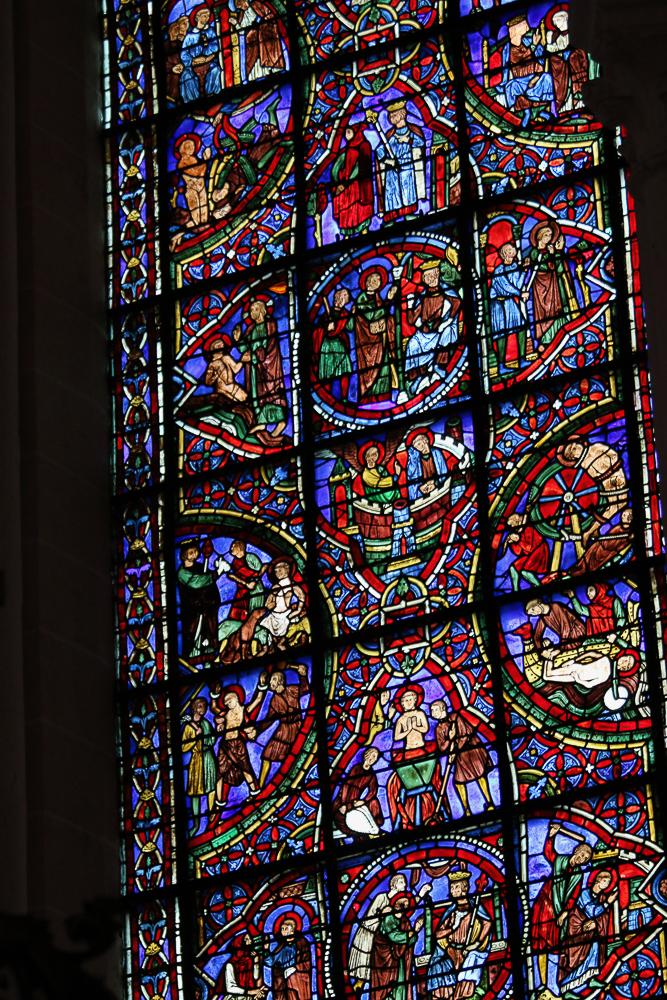 St. Pantaleon's Window South-East Apsidal Chapel Chartres