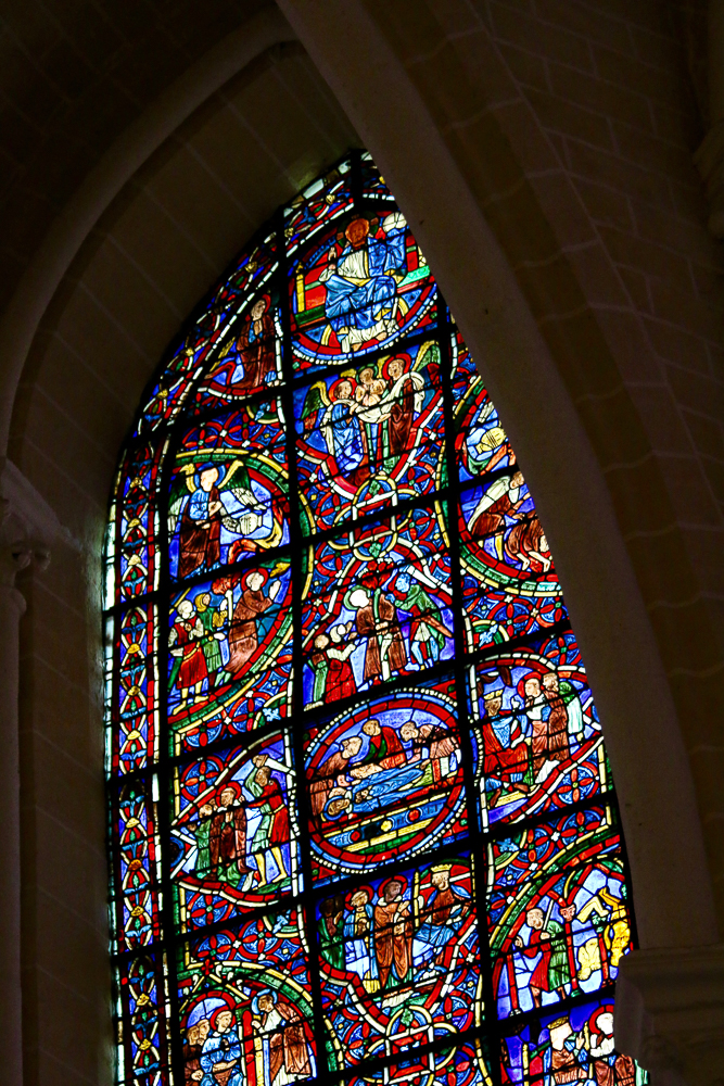 St. Pantaleon's Window South-East Apsidal Chapel Chartres