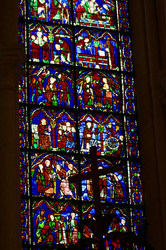 St. Cheron Window South-East Apsidal Chapel Chartres Cathedral